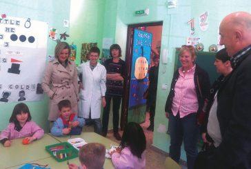 Educación conoció  las deficiencias del  colegio de Abárzuza