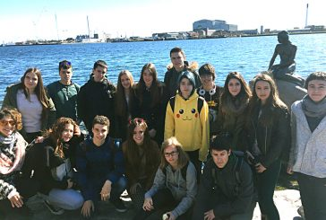 Alumnos del IES Tierra Estella devuelven la visita en Dinamarca