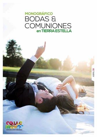 Monográfico bodas y comuniones en Tierra Estella. Abril 2015
