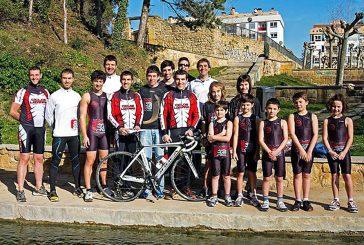 Buena participación del Tri Ur Gazia en el Campeonato de España de Triatlón Sprint
