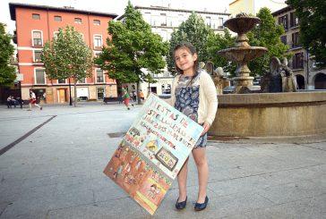 María Molina. Ganadora del cartel en categoría infantil