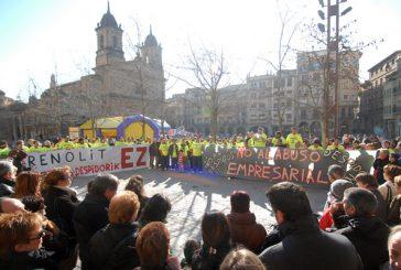 Mil personas se movilizaron contra los despidos de Renolit