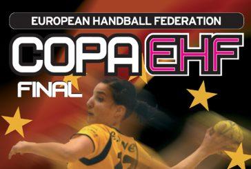 Itxako en la final de la Copa EHF