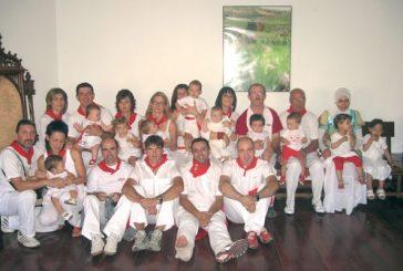 Homenaje a los vecinos más jóvenes de Dicastillo