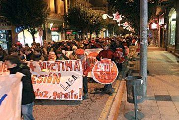 Cientos de apoyos en una manifestación silenciosa juvenil