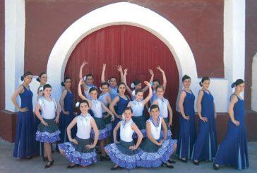 Sevillanas en el tablado de los cines Los Llanos