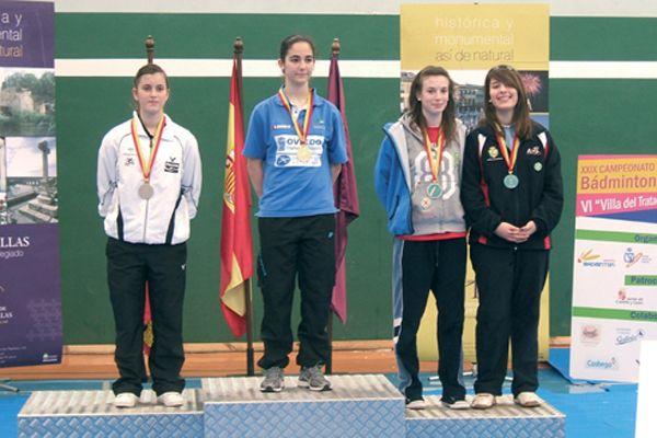 María Sánchez, bronce en  el nacional sub 15