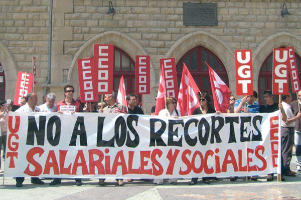 Escasa participación en la convocatoria de huelga