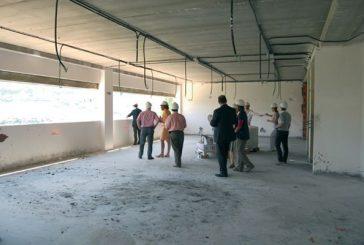 El nuevo edificio de la ESO en Remontival afronta su recta final