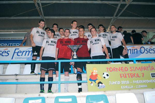 I Torneo de la Simpatía de Estella de fútbol 7