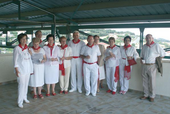El Grupo de Auroros dio comienzo a cinco días de jolgorio en Abárzuza