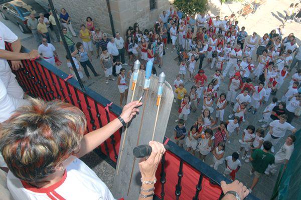 Grandes estallidos  en el Exploto XV de Mañeru