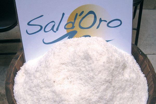 Presentación del producto gourmet Sal D´Oro