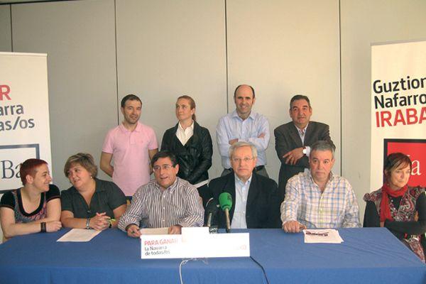 Gómez de Segura encabeza la lista de Nabai en Estella