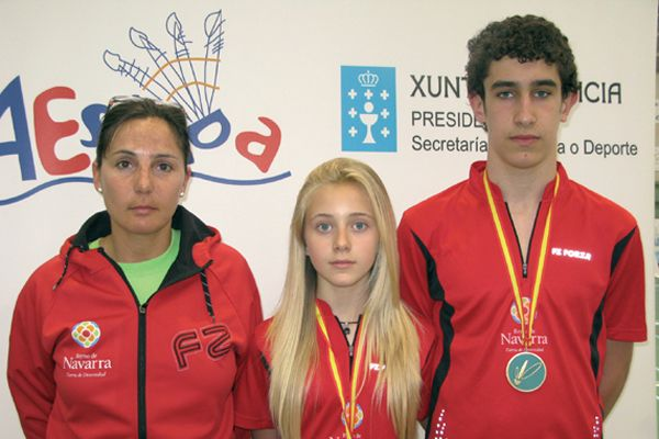 Íñigo Urra y Nelly Iriberri, subcampeones de España sub 17