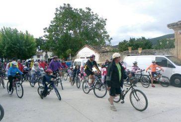 Éxito en el tercer Día de la Vía Verde del Ferrocarril Vasco Navarro