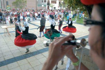 El alcalde Luis Araiz protagonizó el arranque festivo en Ayegui