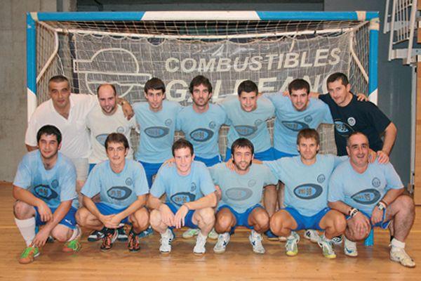 Área 99 se estrena ante su público en el IV Trofeo Ciudad de Estella-Lizarra