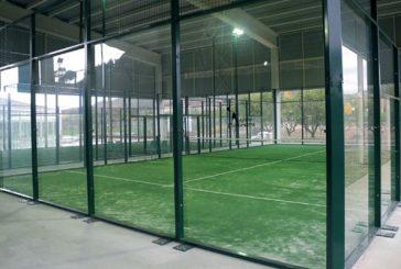 En marcha las nuevas pistas de pádel del Polideportivo Ardantze