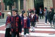 La celebración de San Andrés animó un día de labor en Estella