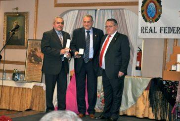 El club taurino recogió la medalla de plata al mérito taurino por su 50 aniversario