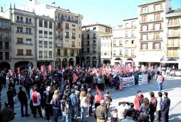 Jueves de huelga en Estella