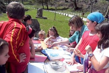El agua y los ríos centraron la actividad de los últimos días en el colegio de Abárzuza