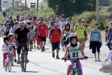 A Zúñiga, a pie o en bicicleta