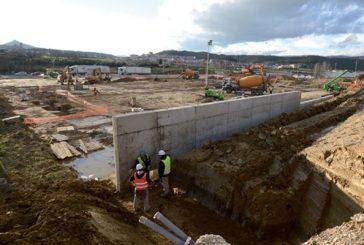 Comienzan las obras de construcción de Mercadona en Estella