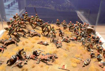 1.400 miniaturas militares 'sitian' el Museo del Carlismo