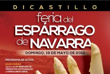 Dicastillo y Allo acogen el domingo 19 el Día del Espárrago y el Día del Cereal