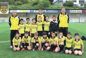 El benjamín de segundo año del C.D. Arenas, subcampeón en Fútbol 8