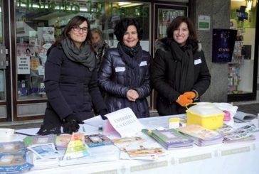 El centro de salud de Estella promueve a pie de calle  los hábitos saludables