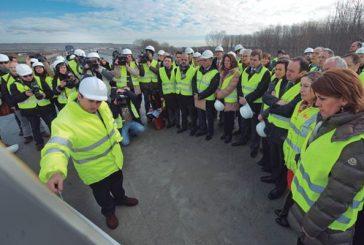 Las obras de conexión de la A-12 con La Rioja finalizarán en quince meses