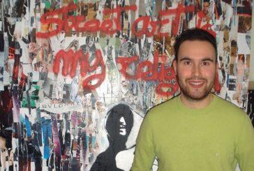 La casa de cultura acoge el arte urbano de Asier Armendariz