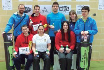 Siete medallas para el club Estella en Alfajarín