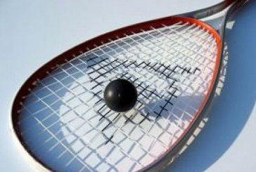 Curso de squash en Estella con el seleccionador Tino Casas