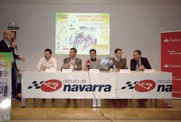 El G.P. Miguel Induráin recorrerá el Circuito de Los Arcos