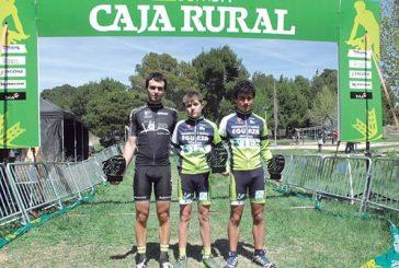 Varios segundos puestos en la cuarta prueba del Open BTT Caja Rural, disputada en Tudela