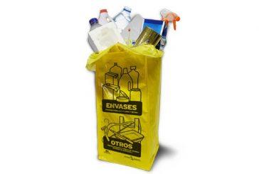 Mancomunidad refuerza la recogida selectiva con una bolsa para envases