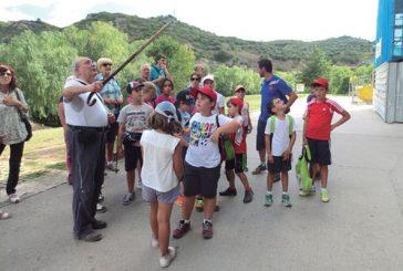 Los participantes de la ludoteca municipal de verano disfrutaron como peregrinos