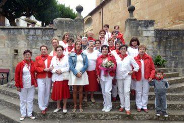 Sardinas e intercambio de vara en el Día de la Mujer de Cirauqui