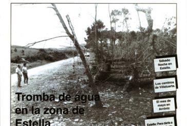 CALLE MAYOR 001 – TROMBA DE AGUA EN LA ZONA DE ESTELLA