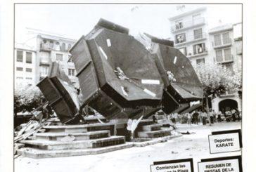 CALLE MAYOR 007 – COMIENZAN LAS OBRAS EN LA PLAZA DE LOS FUEROS
