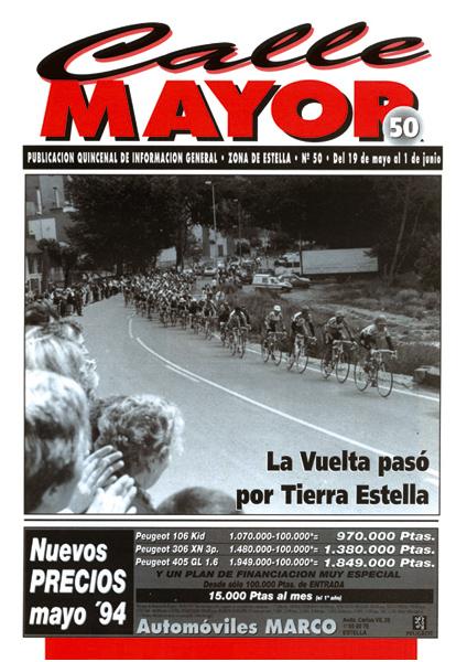 CALLE MAYOR 050 – LA VUELTA PASÓ POR TIERRA ESTELLA