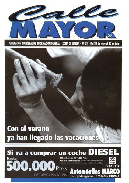 CALLE MAYOR 053 – CON EL VERANO YA HAN LLEGADO LAS VACACIONES