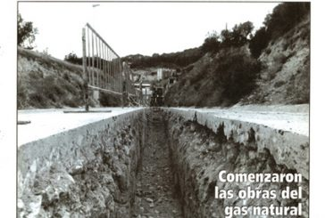 CALLE MAYOR 058 – COMENZARON LAS OBRAS DEL GAS NATURAL EN ESTELLA