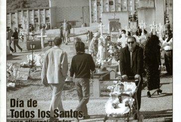 CALLE MAYOR 108 – DÍA DE TODOS LOS SANTOS, GRAN AFLUENCIA EN LOS CEMENTERIOS DE NUESTRA ZONA