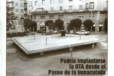 CALLE MAYOR 131 – PODRÍA IMPLANTARSE LA OTA DESDE EL PASEO DE LA INMACULADA HASTA LA ESTACIÓN DE AUTOBUSES