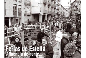 CALLE MAYOR 157 – FERIAS DE ESTELLA. AFLUENCIA DE GENTE… Y DE AGUA